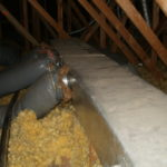 Insulated attic ductwork